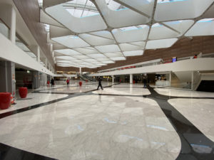le nouveau look du grand mall de Balexert