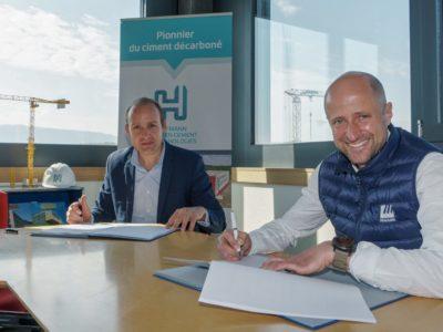 Maulini-Hoffmann Green Cement – Partenariat Green