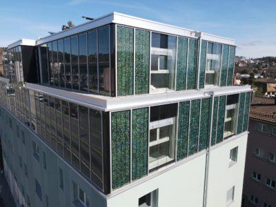 Solarwall – Du soleil et de la couleur